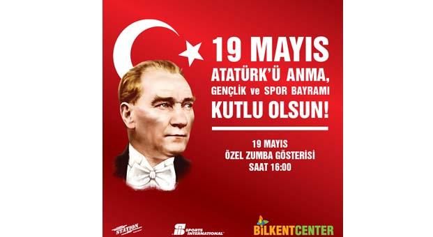 Bilkent Center'da 19 Mayıs Spor yaparak kutlanacak