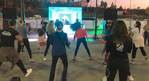 Spor tutkunları Bilkent Center'da buluştu
