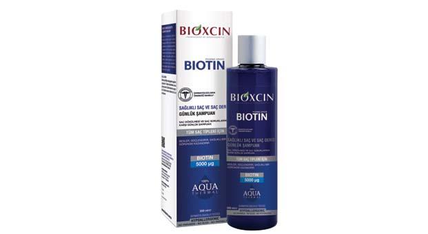 Biotin Vitamini ve termal suyun mineral gücünüsaçlarınızda hissedin
