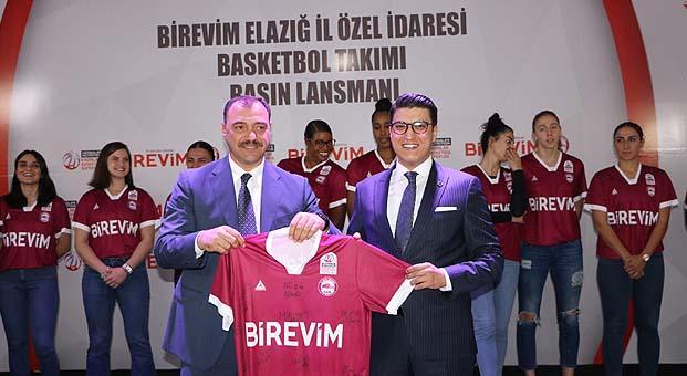 Birevim, Elazığ kadın basketbol takımına sponsor oldu