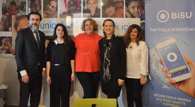 BiSU-UNICEF iş birliğiyle her siparişte 5 çocuğun günlük temiz su ihtiyacı karşılanıyor