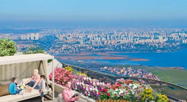 Kanal İstanbul ile boğaz manzarası 'Bizim Evler'e geliyor