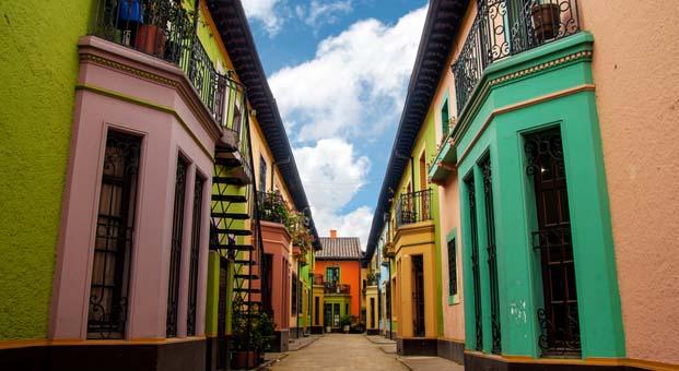 Bogota'nın renkli sokaklarını keşfedin