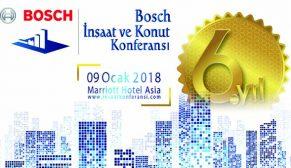 Bosch İnşaat ve Konut Konferansı'na geri sayım başladı