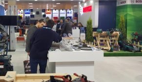 Bosch Elektrikli El Aletleri yenilikçi ürün ve çözümleriyle İstanbul Hırdavat Fuarı'nda
