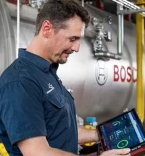 Bosch Termoteknoloji endüstriyel kazan sistemlerinde kolaylık sağlıyor