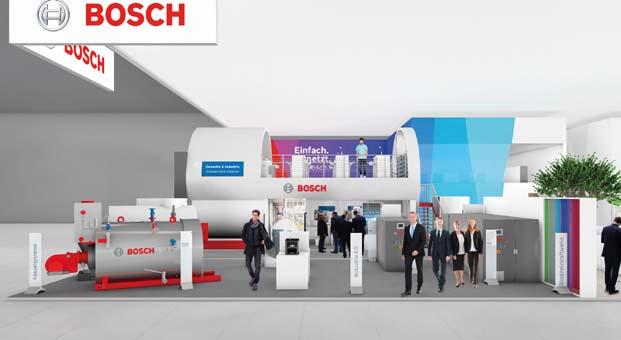 Bosch ticari ve endüstriyel sektörlerde dijitalleşmeyi ve ağ oluşturmayı desteklemeye devam ediyor
