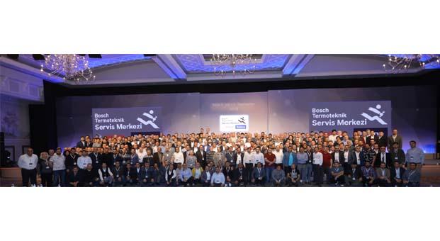 Bosch Termoteknik yetkili servisleri ile Antalya'da buluştu