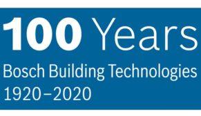 Bosch Bina Teknolojileri'ndeki uzmanlığının100'üncü yılını kutluyor