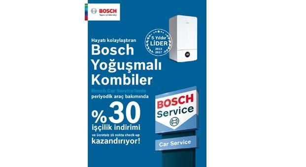 Bosch yoğuşmalı kombiler indirim kazandırıyor