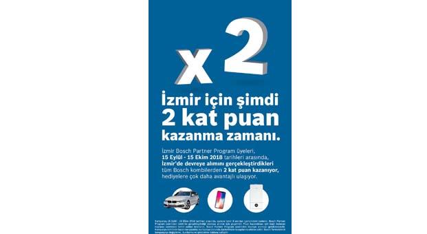 Bosch Partner Program'dan İzmir'e özel 2 Kat Puan kampanyası