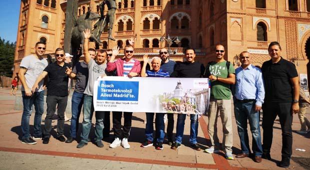 Bosch Termoteknoloji Madrid'de montajcı bayileri ile buluştu