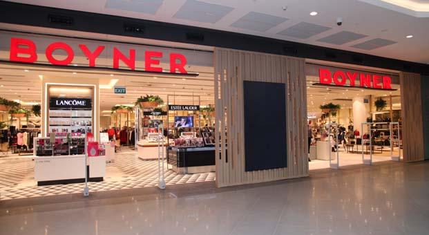 Boyner yeni konseptiyle Antalya Agora AVM'de açıldı