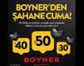 Boyner'den Şahane Cuma'da online satış rekoru