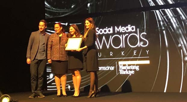Social Media Awards'tan Buderus'a ödül