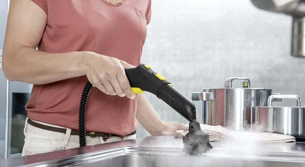 Yazın artan bakterilerden buharlı temizlikle kurtulun
