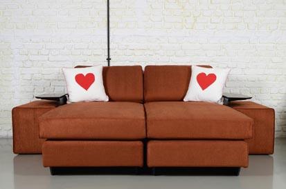 Buka Sofa'da koltuklar 'aşk'a geldi