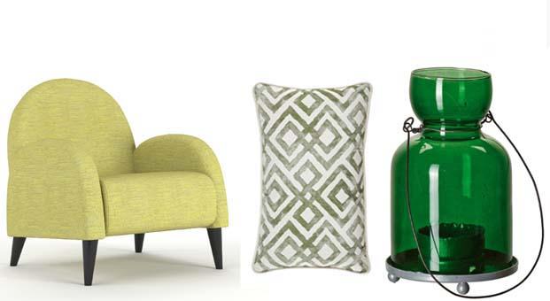 Evinizde yeşil ve tonlarının rahatlatan etkisine yer açın