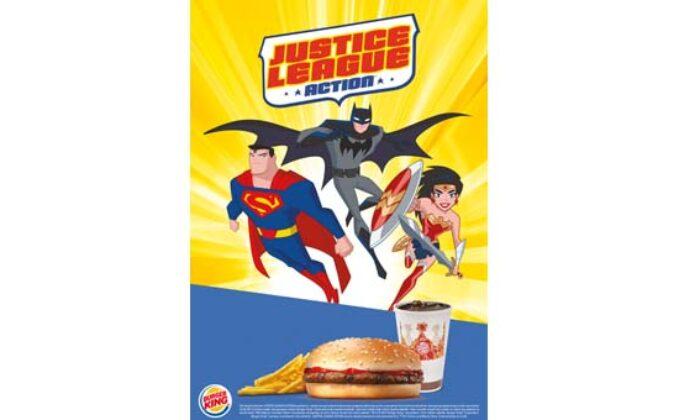 burger king super kahraman birligi