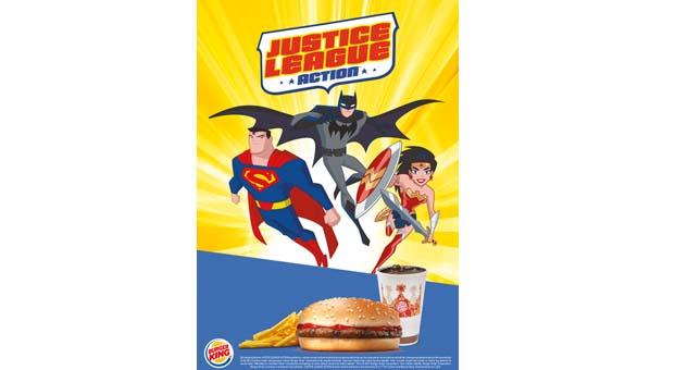 Burger King 'Süper Kahraman Birliği'