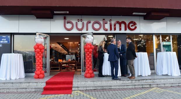 Bürotime'dan yurt dışına iki yeni showroom