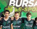 Wolfcity Bursa'da şampiyon COLLECTORS takımı oldu