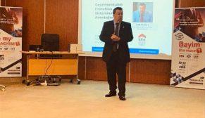 """Can Özatay'dan """"Gayrimenkulde Franchise Sisteminin Avantajları"""" semineri"""