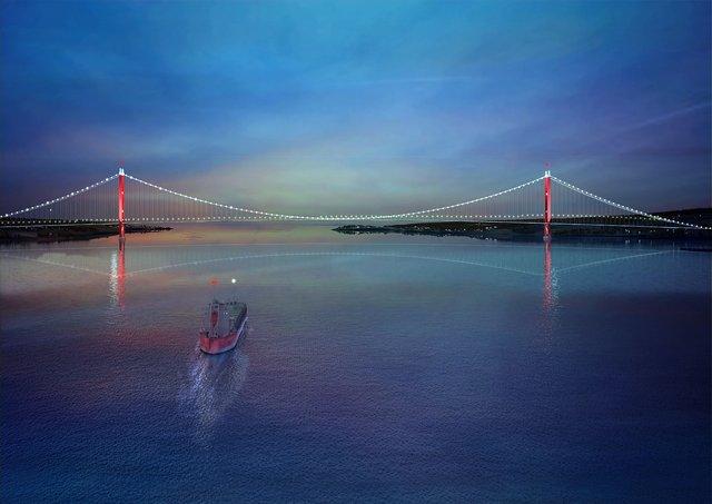 1915 Çanakkale Köprüsü 'tarih tüpü'yle ölümsüzleşti