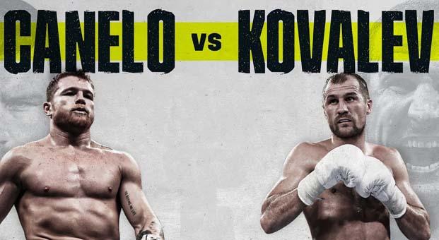Canelo Kovalev boks maçı ne zaman hangi gün saat kaçta?