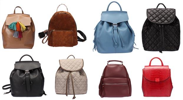 İnci'nin sırt çantaları sezonun trendlerini yansıtıyor