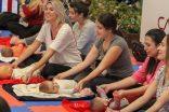 Zeynep Gözübüyük ile Anne&Bebek Yogası Capacity'de devam ediyor