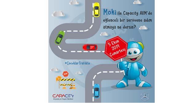 Capacity'de çocuklara özel trafik etkinliği
