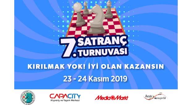 7. Geleneksel Capacity Satranç Turnuvası başlıyor