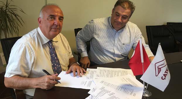 """ÇATIDER ve Demos Fuarcılık """"Çatı ve Cephe Malzemeleri ve Teknolojileri Fuarı"""" için anlaşma imzaladı"""