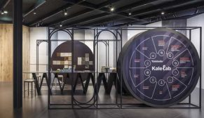 İtalya'da marka yatırımı yapan ilk Türk şirketi Kale, Cersaie'nin yenilikçi yüzü oldu