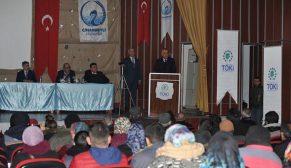Konya Cihanbeyli ve Altınekin' de 330 konutun hak sahipleri belirlendi