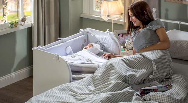 Çilek Anne Yanı Beşik ile mışıl mışıl bir uyku