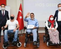 Çimsa ve Mersin Büyükşehir Belediyesi engellilere umut olmaya devam ediyor