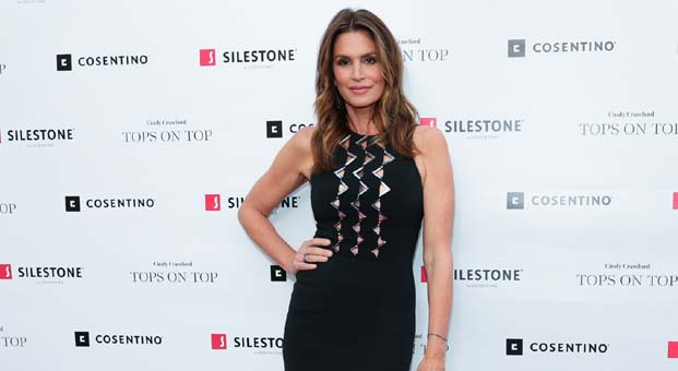 Cindy Crawford ile Silestone Hollywood'da