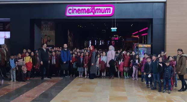 Cinemaximum Şanlıurfa'daçocukları sinema ile tanıştırdı