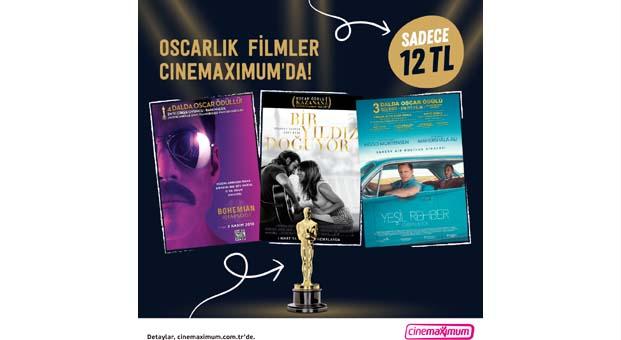 Oscar'lı filmler Cinemaximum'a geri dönüyor