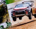 Citroen C3 WRC sezonunun son rallisini podyumda bitirdi