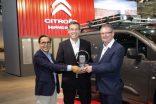 Yeni Citroën Berlingo Van 2019 Uluslararası Ticari Aracı Ödülü'nü kazandı