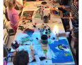 İz Bırakan 50. yılında Adel Kalemcilik, Çocuk Sanat Festivali'nde