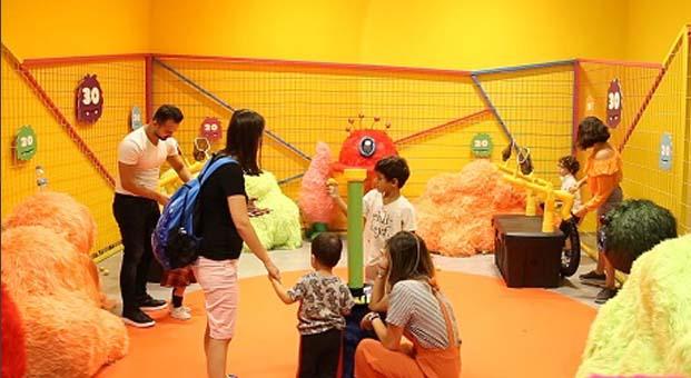 Çocuklar eğlenceyle buluşuyor