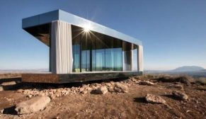 Guardian Glass'tan doğa ile mükemmel uyum sağlayan çöl evi: La Casa del Desierto