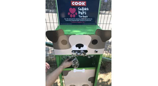 Cook ve Sarıyer Belediyesi'nden doğa dostu ve evcil hayvanlar için anlamlı proje