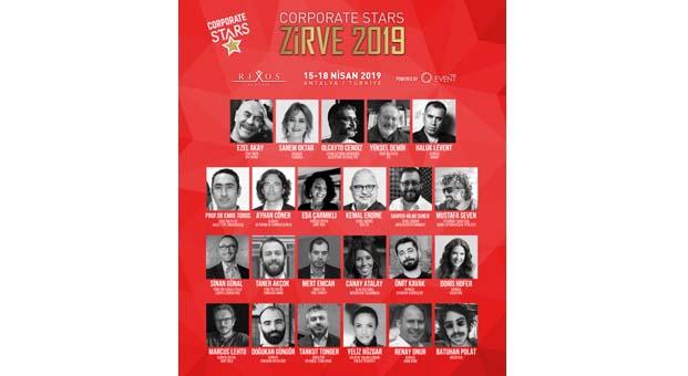 Corporate Stars Zirve 2019 yıldız isimleri ağırlayacak