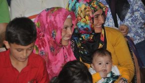 Çorum Osmancık'ta 2 projede 336 konutun kurası çekildi