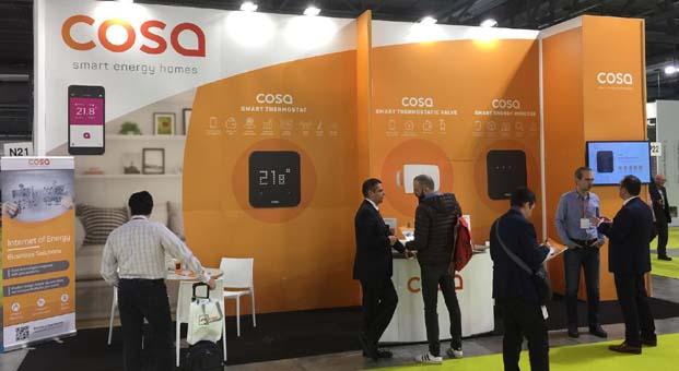 Türk girişimi Cosa yeni nesil akıllı ürünlerini Avrupa'da tanıtıyor